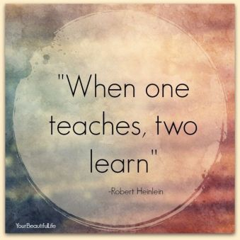 one teaches
